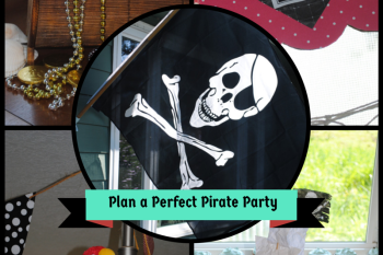 First Birthday Pirate Party