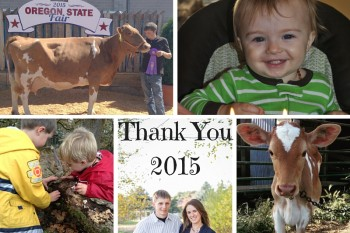 Thank You 2015
