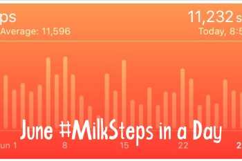 June #MilkSteps in a Day