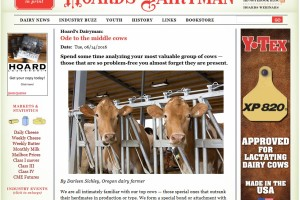 Hoard's Dairyman Blog – Ode to Middle Cows