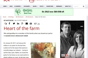 Hoard's Dairyman – Heart of the Farm