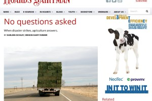 Hoard's Dairyman – No Questions Asked