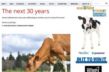 Hoard's Dairyman – Next 30 Years