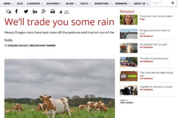 Hoard's Dairyman – Trade you Rain