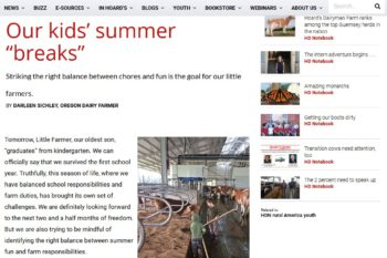Hoard's Dairyman – Our Kid's Summer